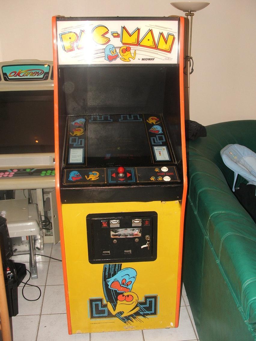 borne arcade pacman